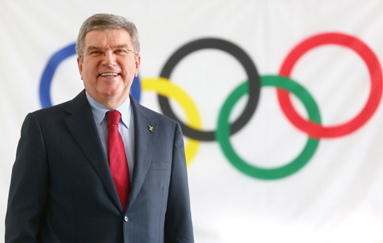 Greetings message from the IOC